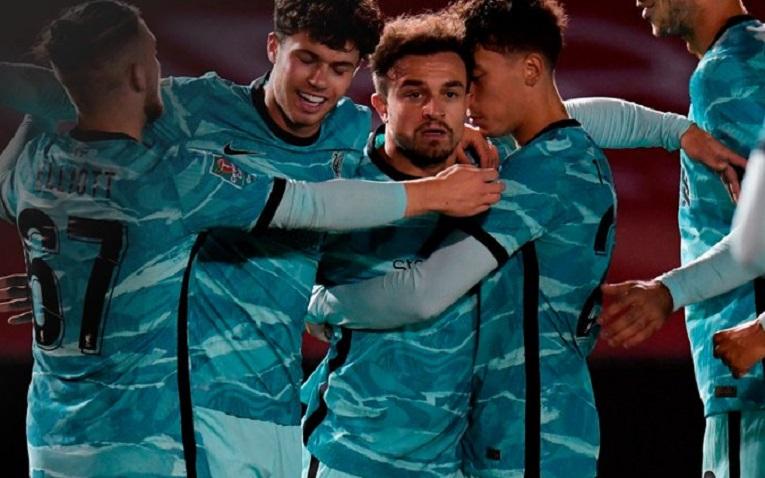 Ѓердан гол на Шаќири, Ливерпул постигнува само евроголови против Линколн