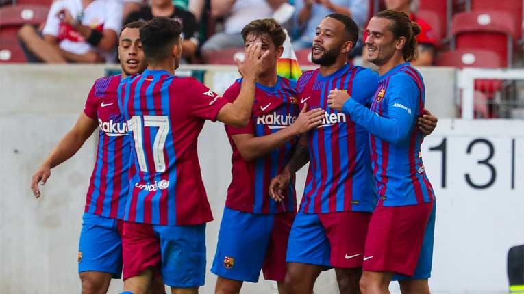 Куман може да е задоволен: Мемфис блеска, заби и новиот талент кој треба да игра за Б тимот на Барселона