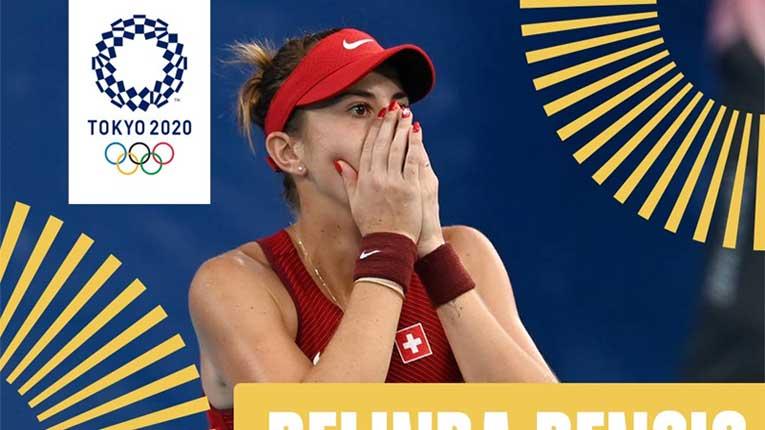 Белинда Бенчиќ за Швајцарија направи нешто не направил ни Роџер Федерер
