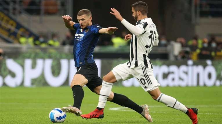 Интер водеше против Јувентус, а спасот за Старата дама дојде од пенал