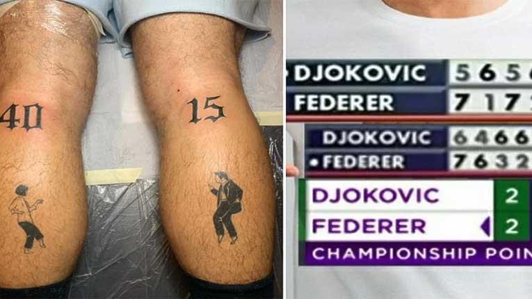 Аргентинец ја направи најчудната тетоважа во чест на Ѓоковиќ